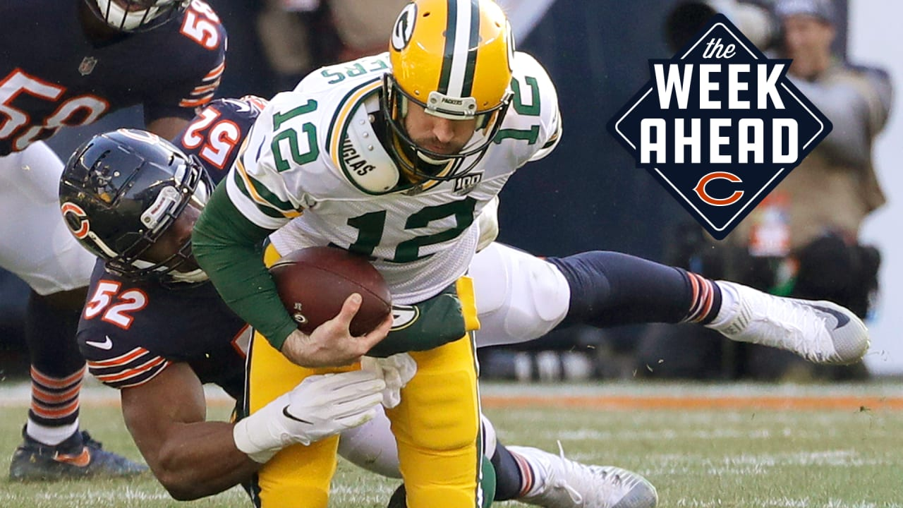 best website 81bff 03ab5 The Week Ahead: Bears gear up for Packers