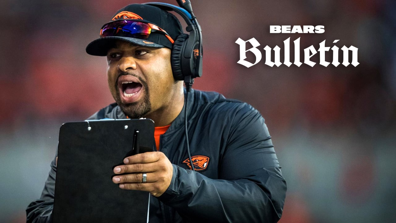 Chicago Bears hire former Oregon State assistant Michael Pitre as new running backs coach