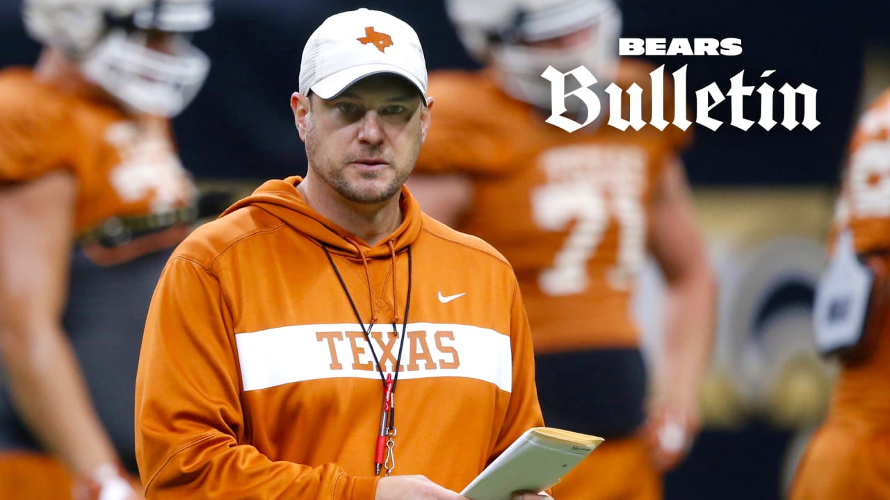 Bears add former Texas coach Herman to staff - ChicagoBears.com