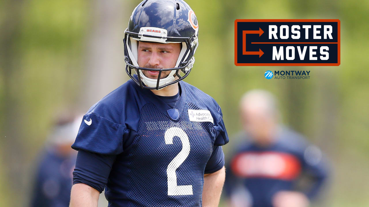 Roster move: Bears waive kicker Chris Blewitt