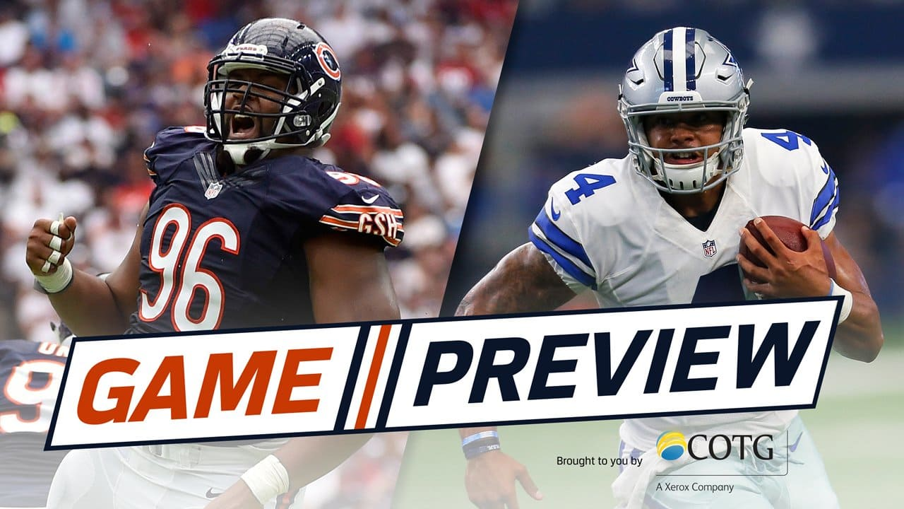 Game Preview  Bears-Cowboys c0cc788cd