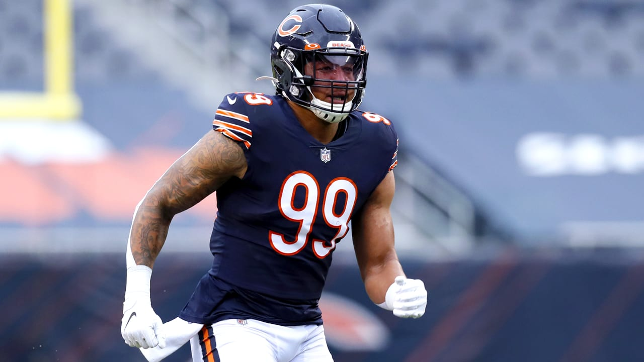 4 things we learned from Chicago Bears defensive coaches on Eddie Goldman, Trevis Gipson, safeties