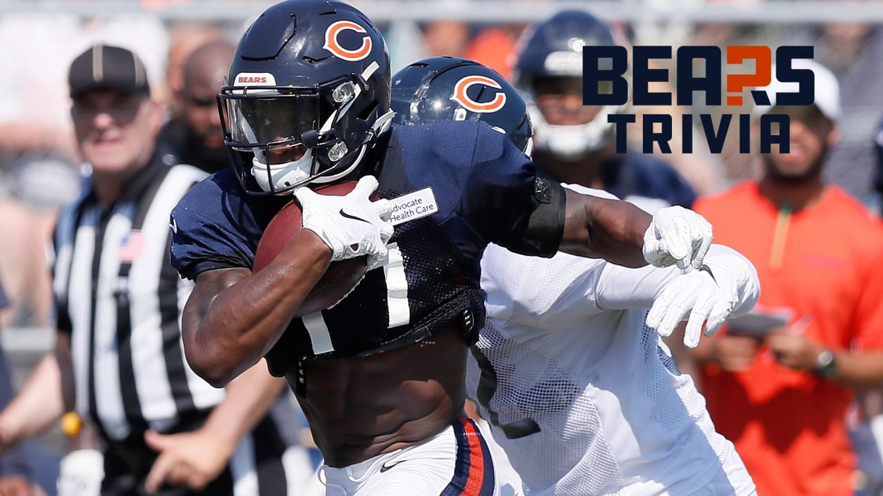 Bears Trivia: The 2019 Chicago Bears roster