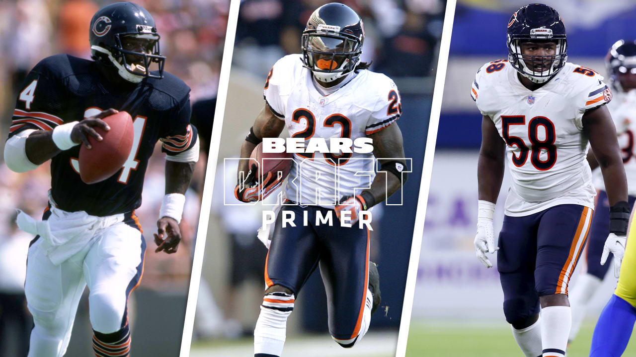 Memorable draft day quotes about current and former Chicago Bears, including Walter Payton, Devin Hester, Roquan Smith