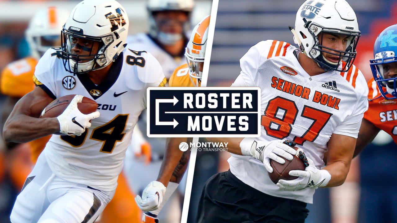 Roster Moves Bears Sign 22 Undrafted Rookies