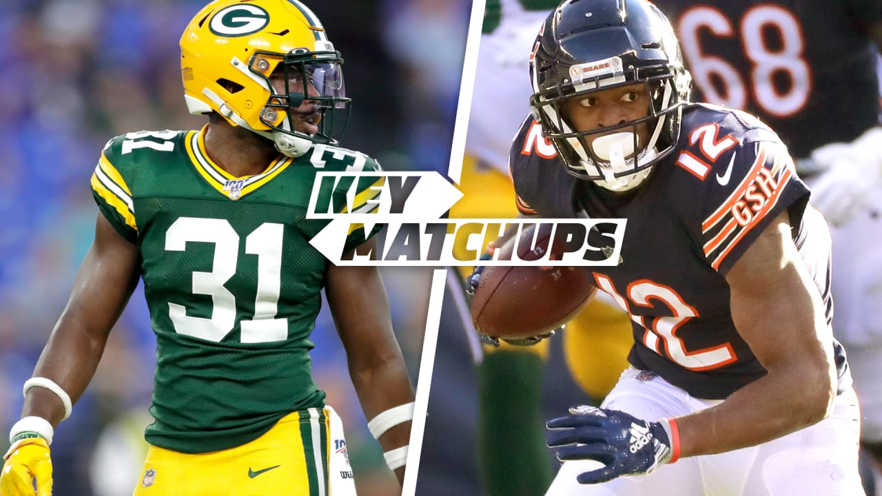 Week 1 Key Matchups Packers At Bears