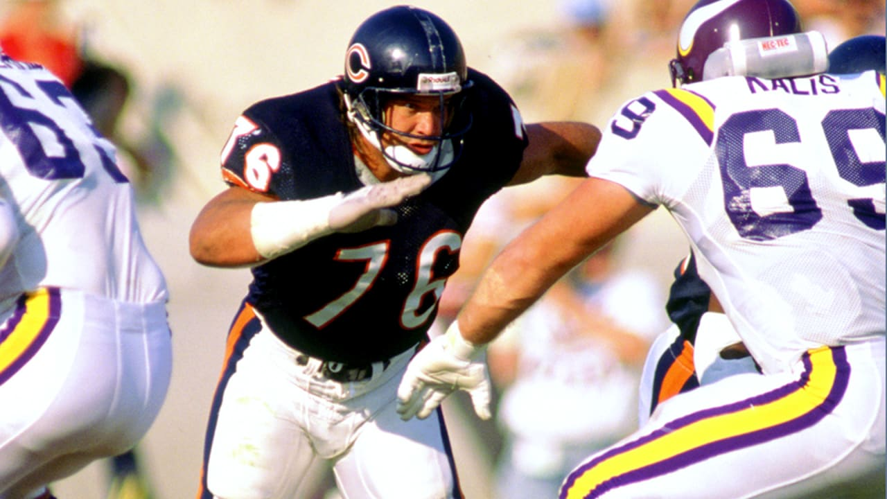 Former Chicago Bears defensive tackle Steve McMichael reveals ALS diganosis