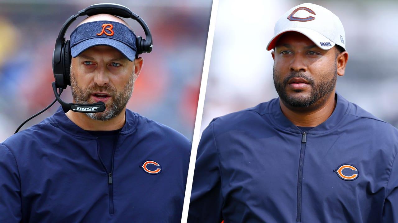 Chicago Bears head coach Matt Nagy explains why he hired Sean Desai as team's defensive coordinator