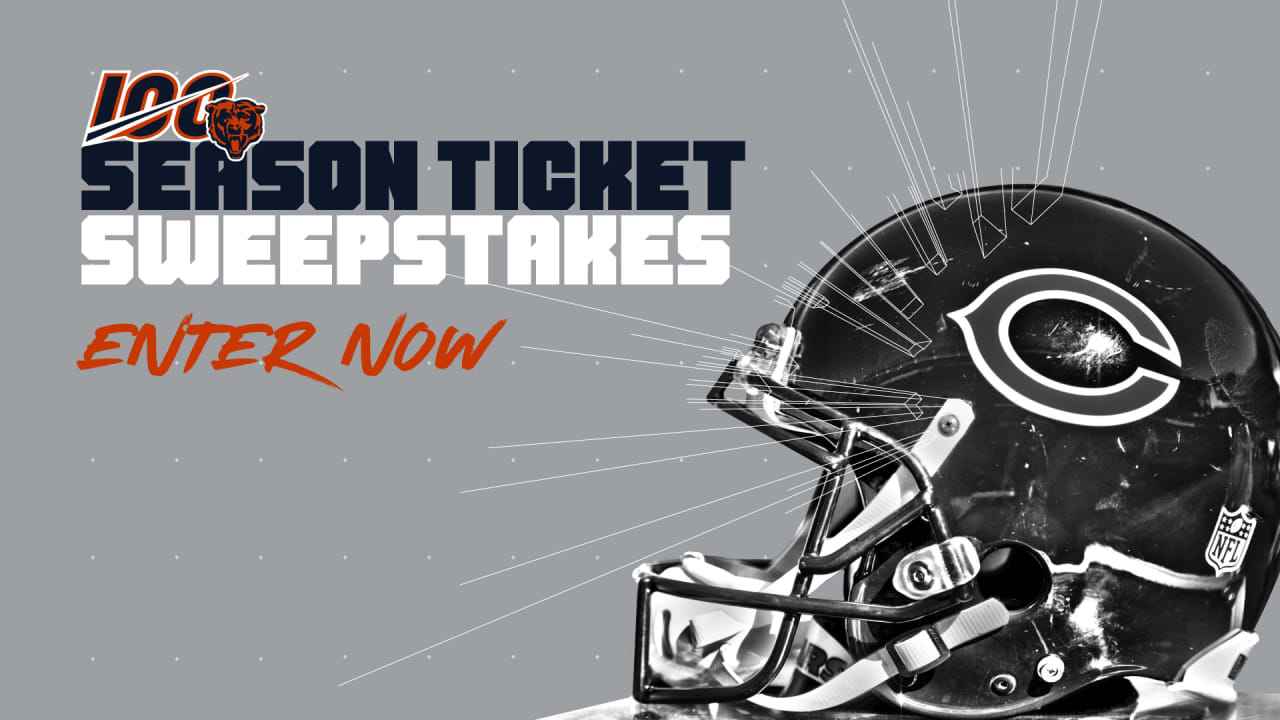 Fans can enter Season Ticket Sweepstakes
