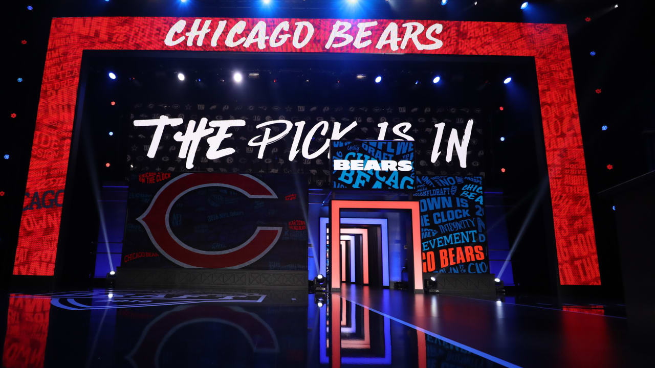 Chicago Bears NFL Draft picks set as league announces order of selection