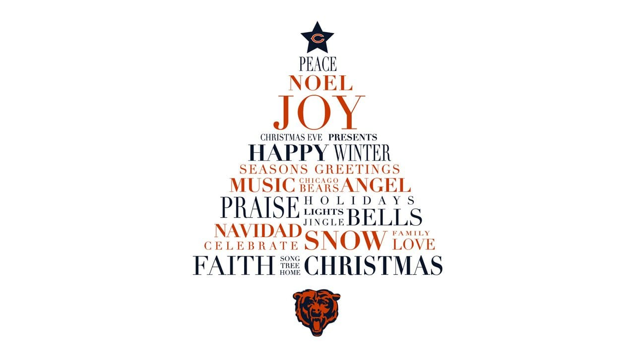 Season\'s greetings from the Chicago Bears