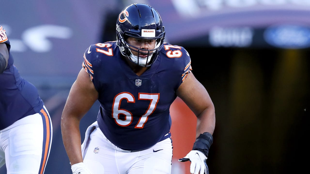 Chicago Bears OL Sam Mustipher's best is yet to come