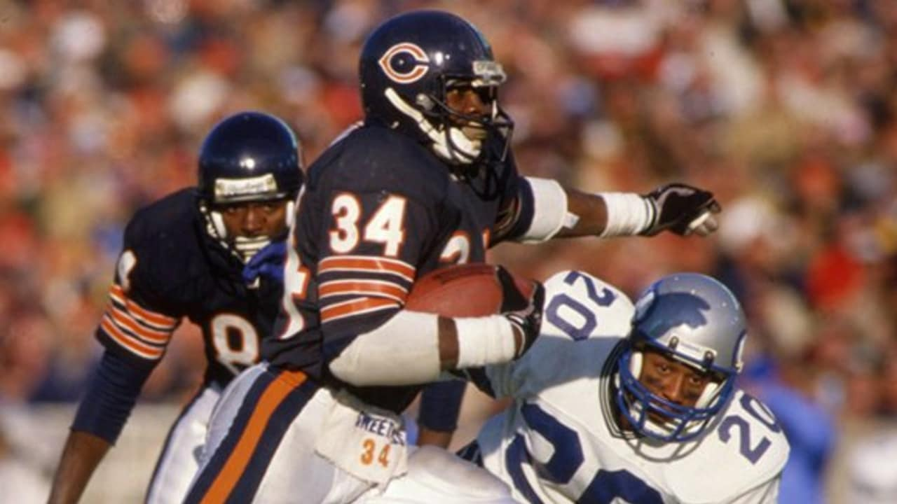 NFL Legends: Walter Payton highlightsWalter Payton Jumping Touchdown