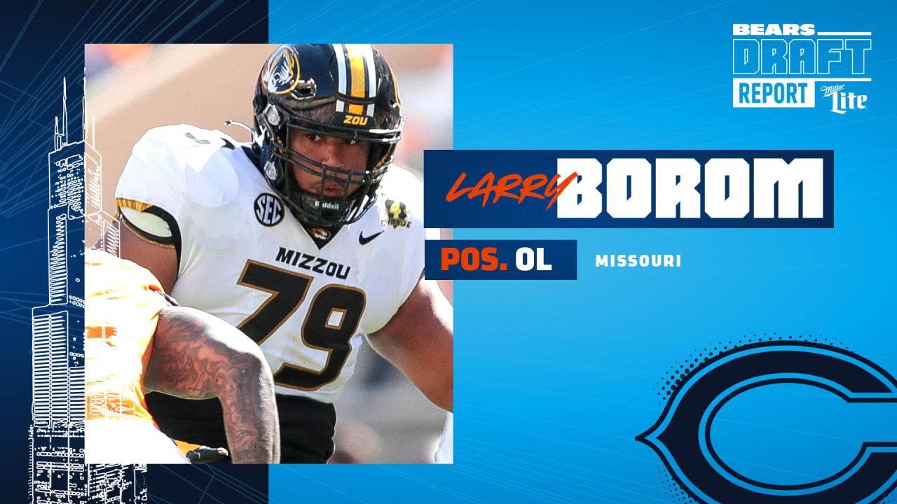 Bears pick Missouri OL Borom in Round 5