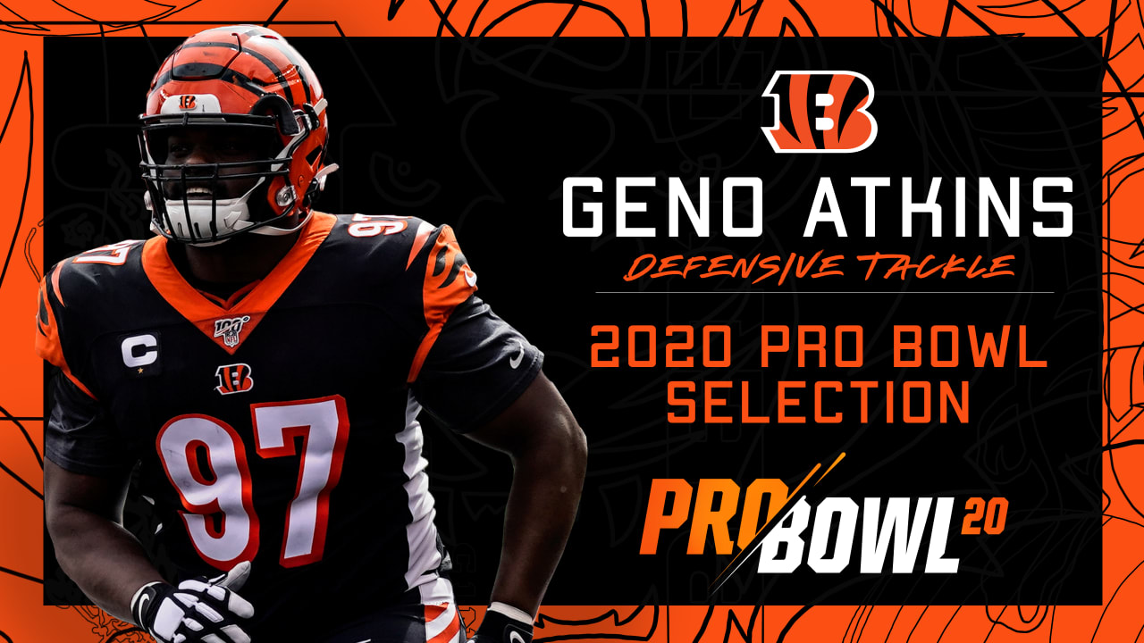 The NFL announced that Bengals DT Geno Atkins has been voted to ...