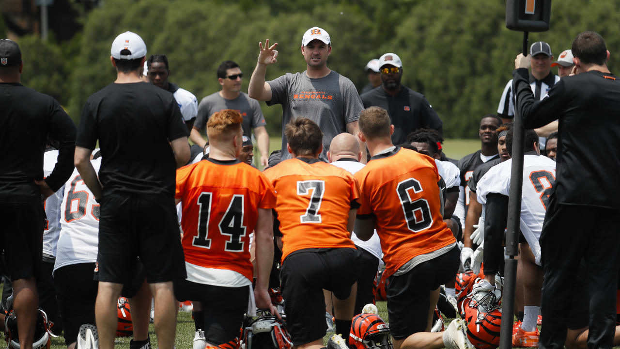 553ea1d3 Bengals Open Training Camp In Dayton On Saturday