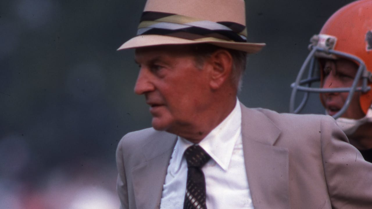 Bengals Founder Paul Brown Named the NFL's No. 1 Game Changer