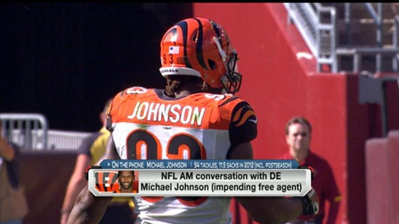7132543ab4 NFL AM: Michael Johnson Interview (2/15/13)