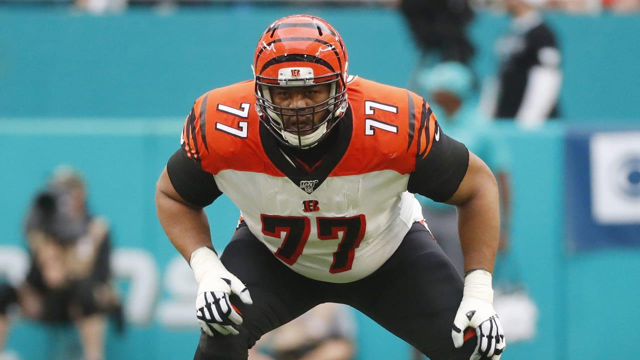 The Cincinnati Bengals release offensive tackle Cordy Glenn