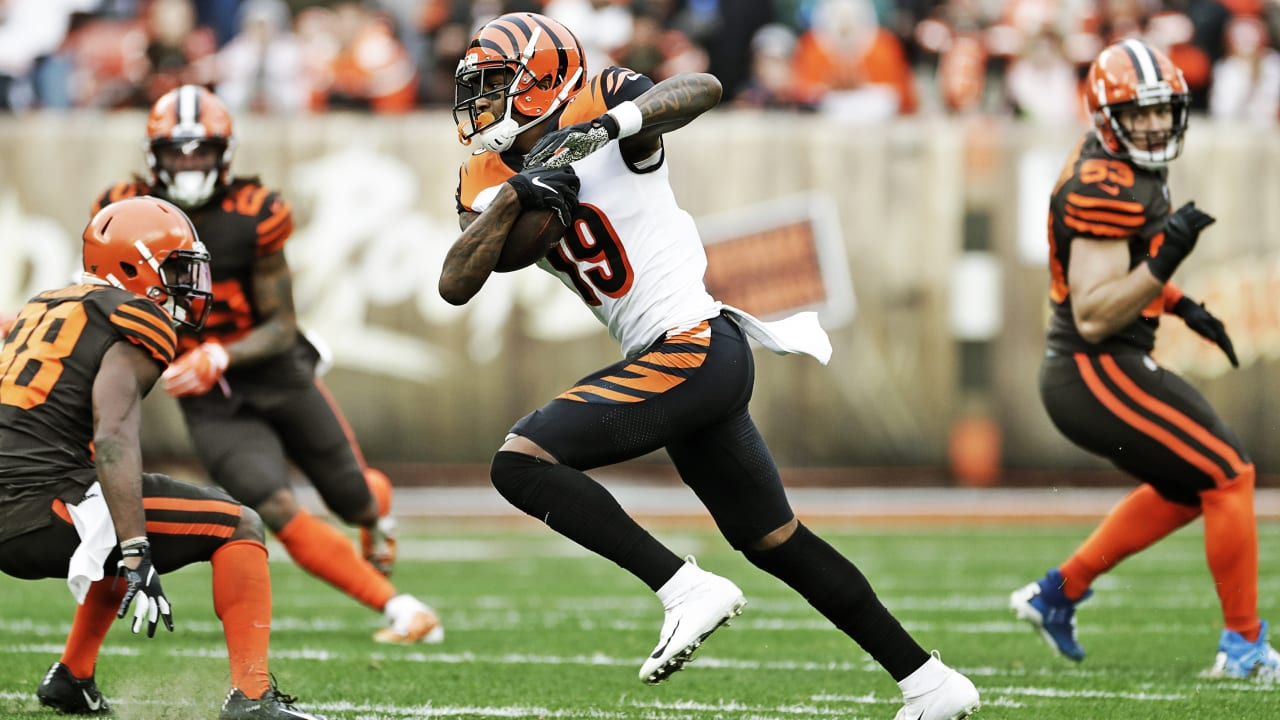 Game Preview Bengals Travel To Cleveland To Face The Browns On Thursday Night Football