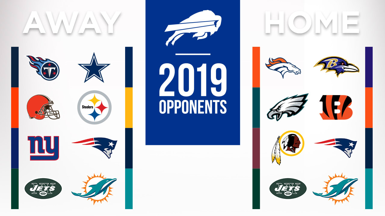 d6b87dd0 Bills 2019 opponents are set
