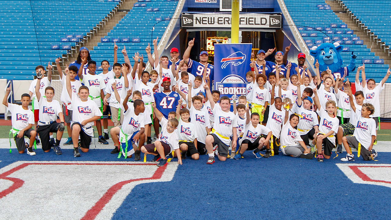 super popular 30a81 1c3f2 How Josh Allen and the Bills rookies are helping dreams ...