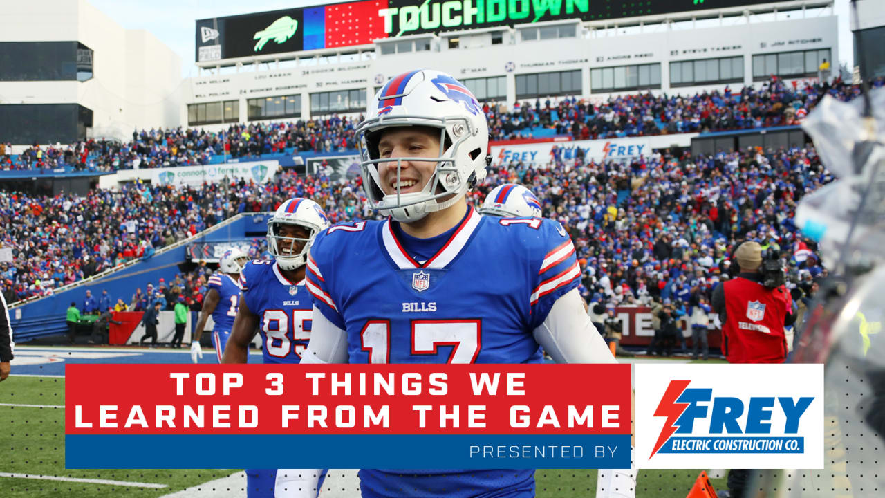 78e423cce Top 3 things we learned from Bills vs. Dolphins