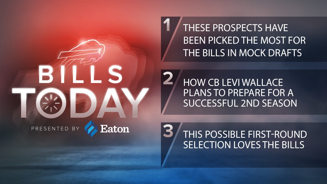 Bills Today: These prospects have been picked the most for