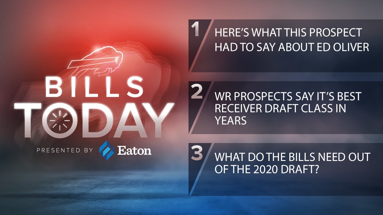 Bills Today   Here's what this prospect had to say about Ed Oliver