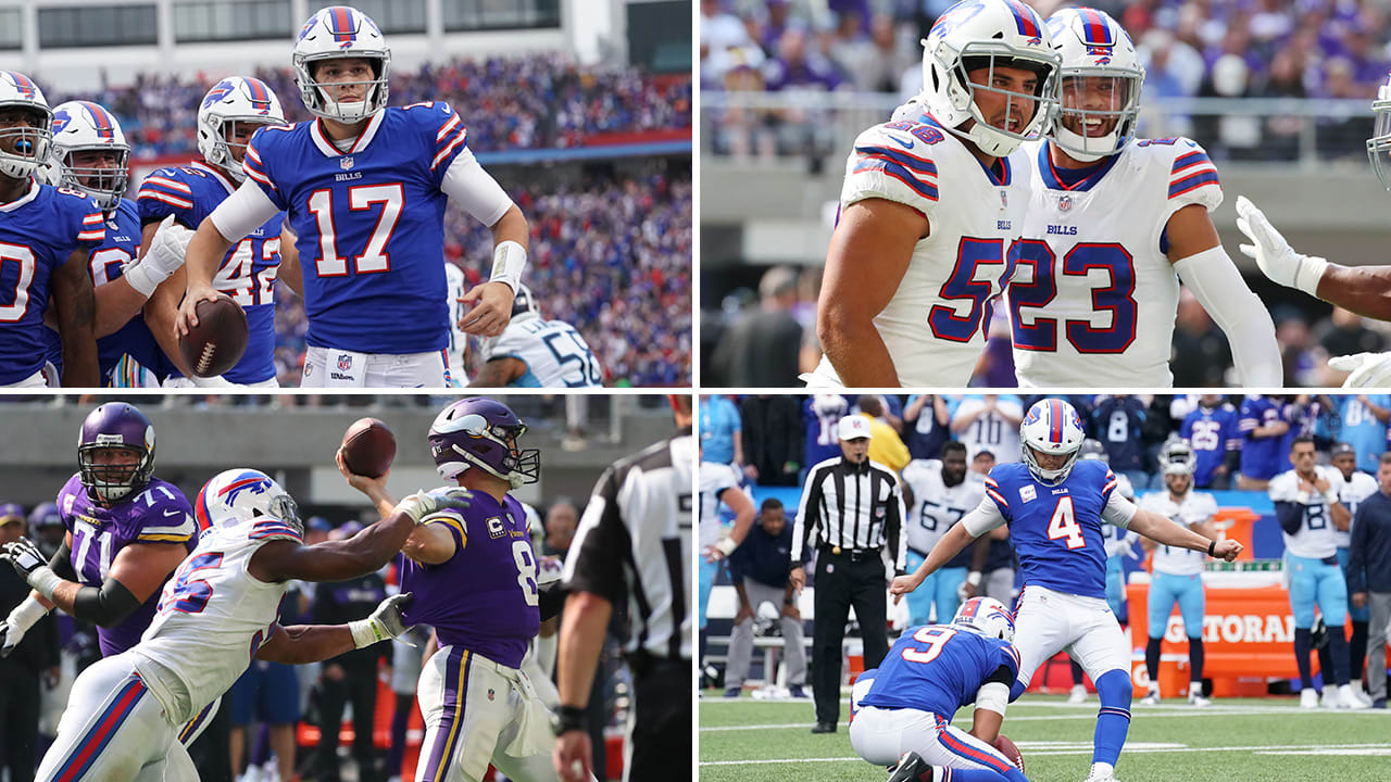 What we've learned so far during the Bills 2018 season