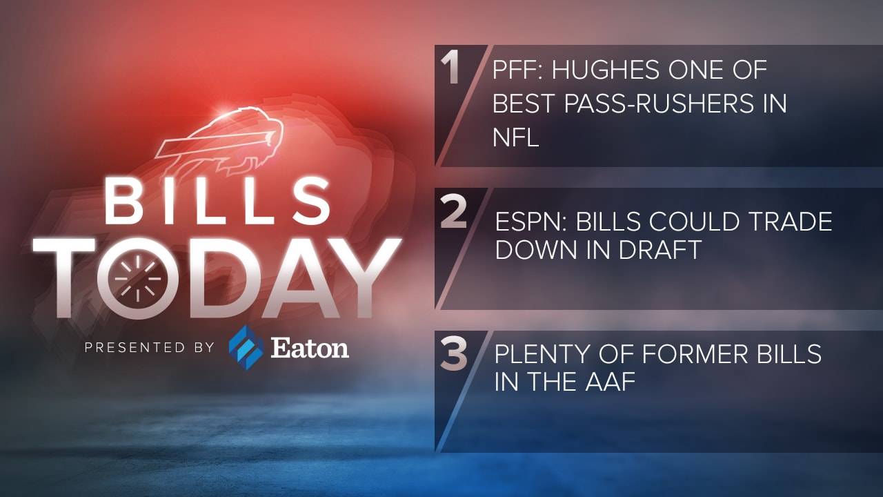 Bills Today: PFF: Jerry Hughes one of best pass rushers in NFL