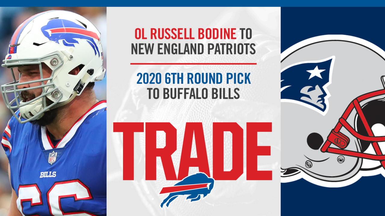 Buffalo Bills Schedule 2020.Bills Trade Ol Russell Bodine To Patriots For 2020 Sixth