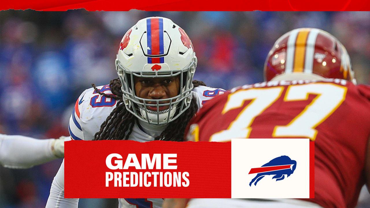 NFL analysts | Bills vs. Washington game predictions | Week 3NewsBuffalo Bills