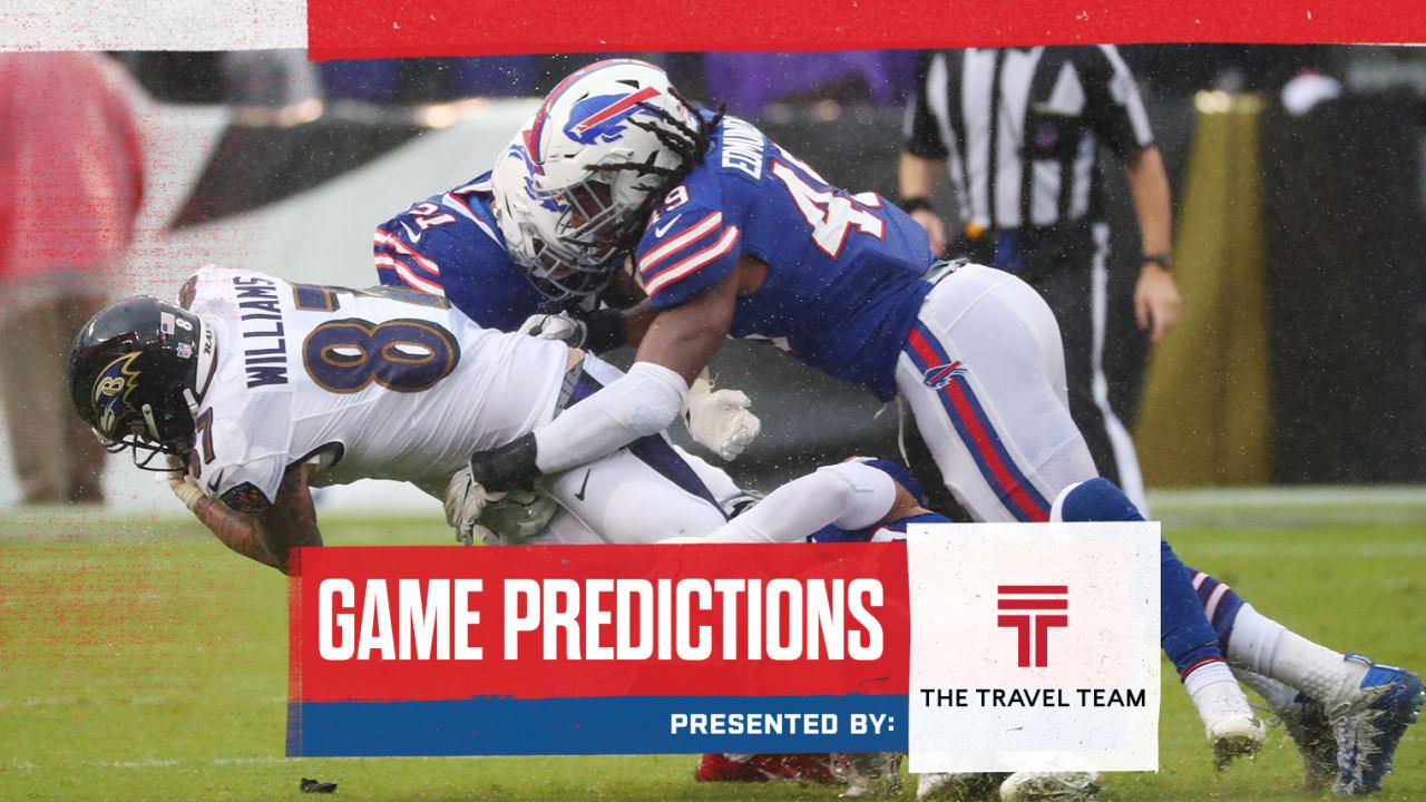 Nfl Analysts Game Predictions Bills Vs Ravens In Week 14