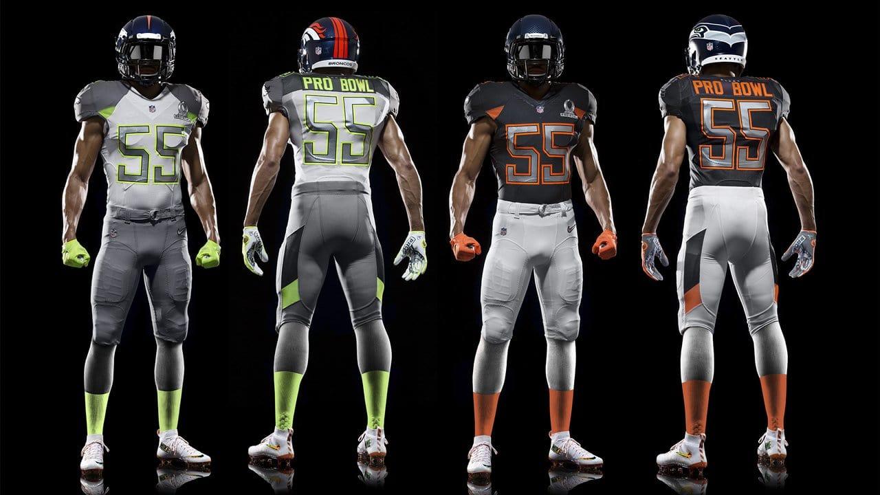 2015 Pro Bowl Uniforms