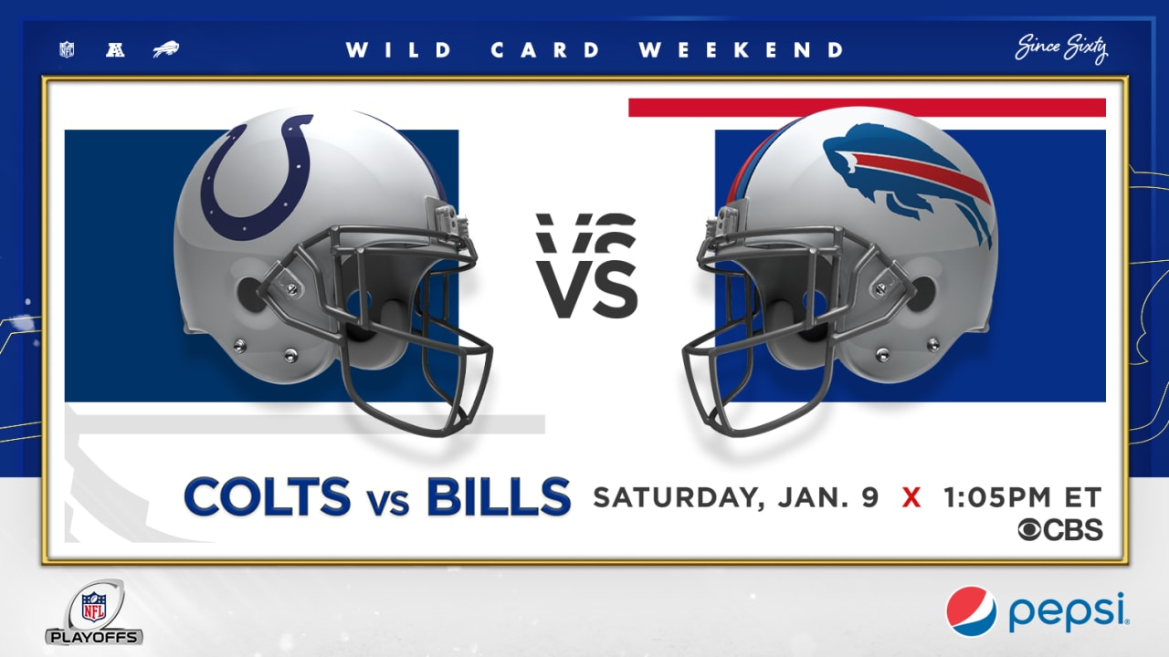 Bills vs. Colts   How to watch, stream, and listen to Saturday's Wild Card playoff game