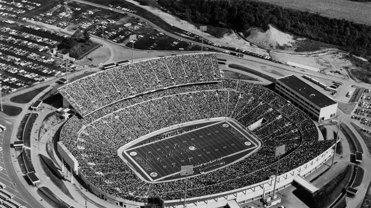 Ralph Wilson Stadium Through The Years