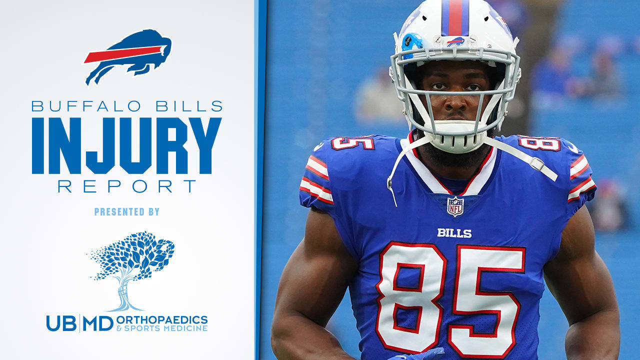Friday injury report: Charles Clay questionable for Sunday