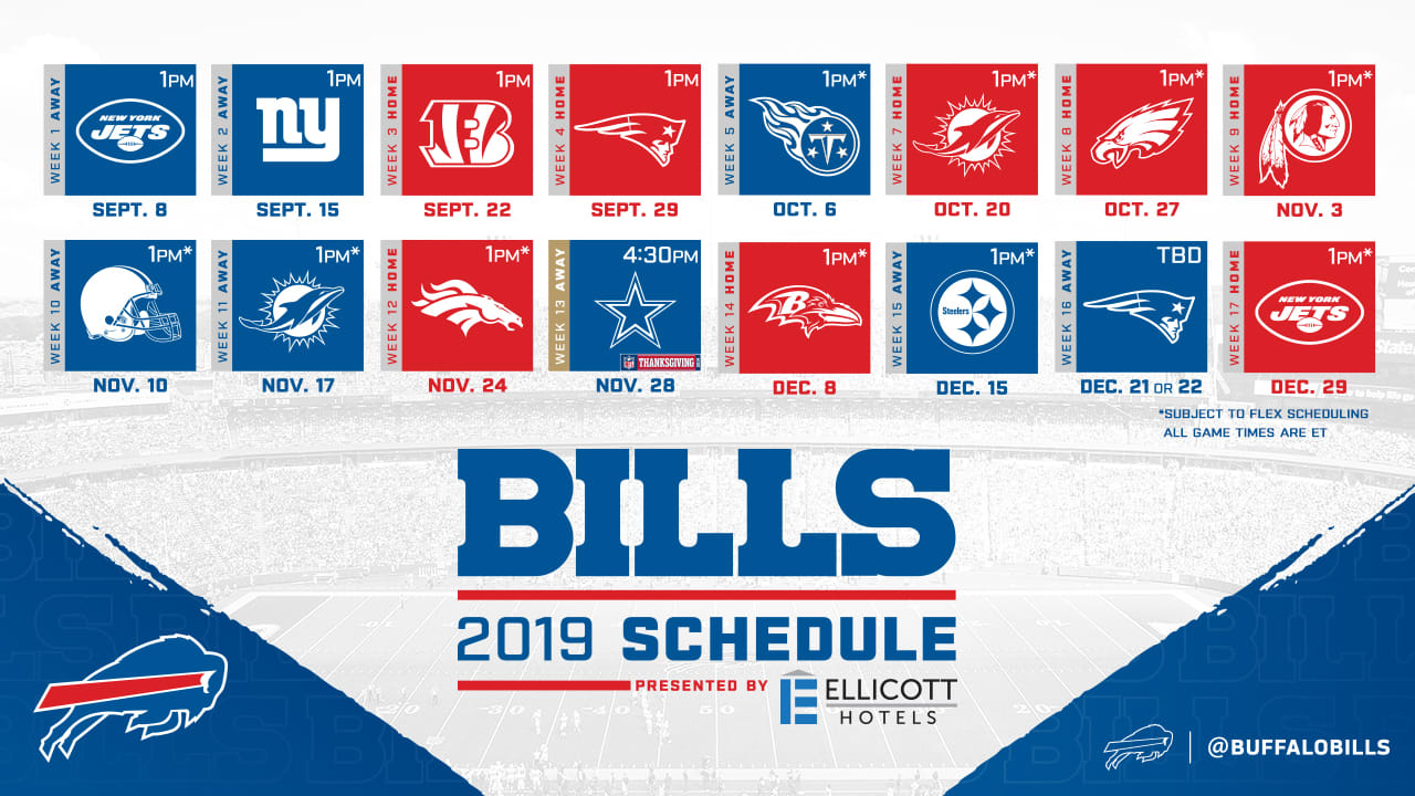 image about Buffalo Bills Printable Schedule named 10 factors towards recognize around the Charges 2019 month to month year routine