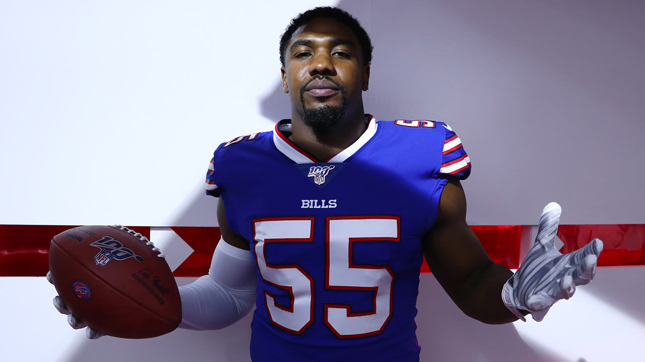 Jerry Hughes signs a two-year extension to remain with the Bills