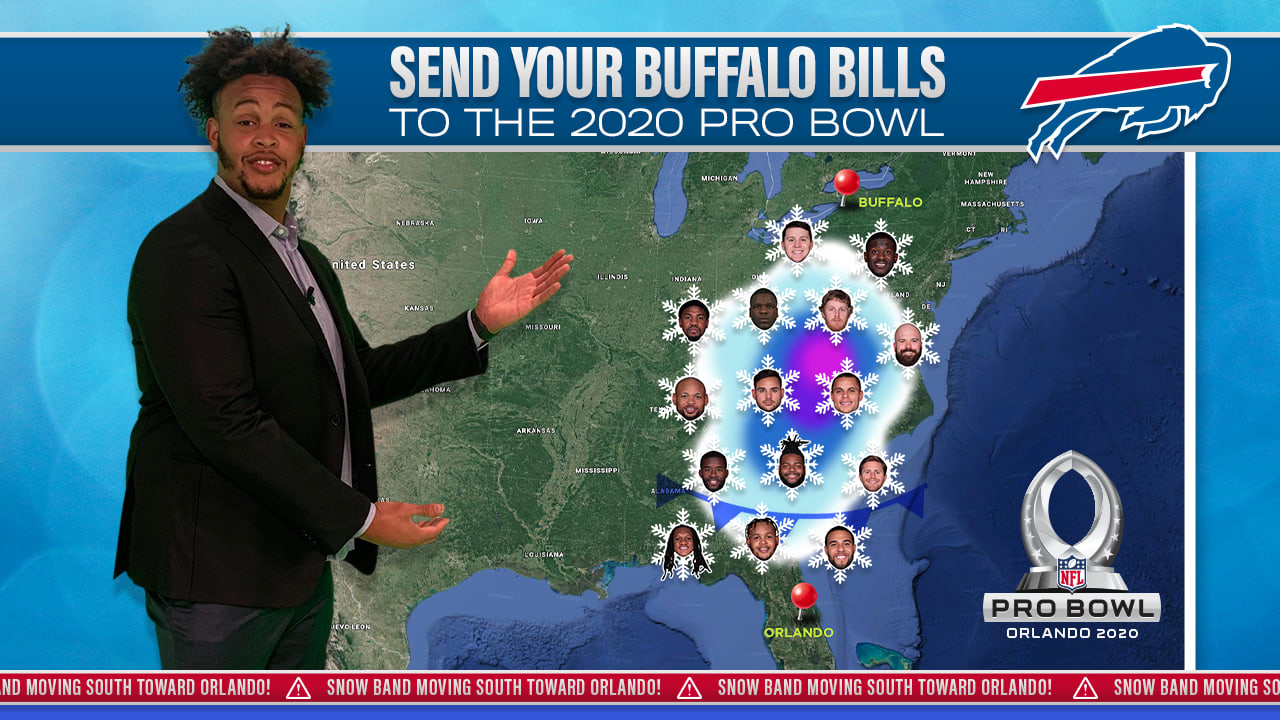 Pro Bowl 2020 Events.Band Together To Send The Bills To The 2020 Pro Bowl