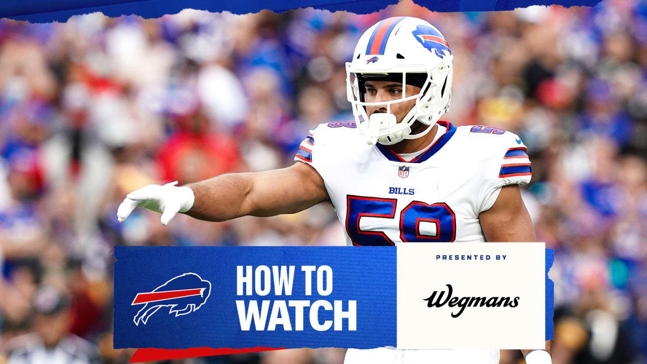 Bills vs. Washington | How to watch, stream, and listen | Week 3NewsJourdon LaBarber