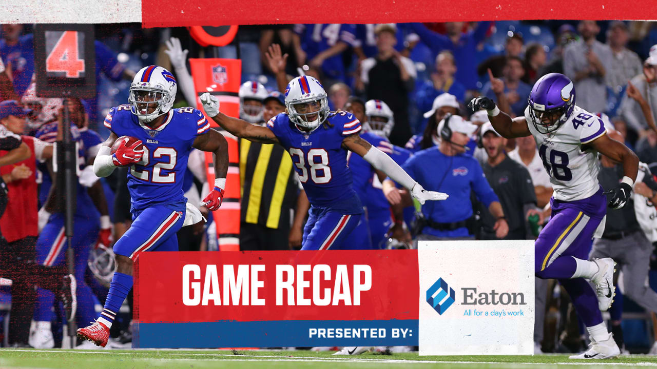 Bills complete undefeated preseason with a 27-23 win over
