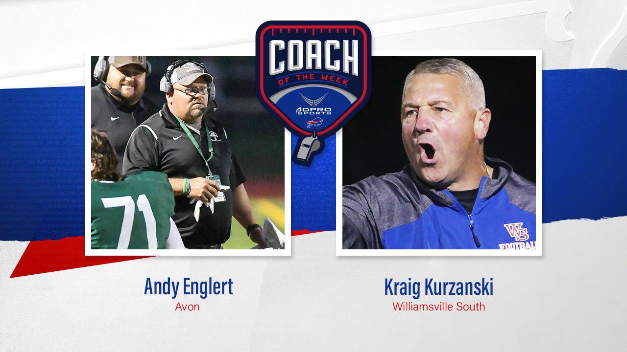 Avon's Andy Englert & Will South's Kraig Kurzanski earn high school coach of the week honors | Week 4News