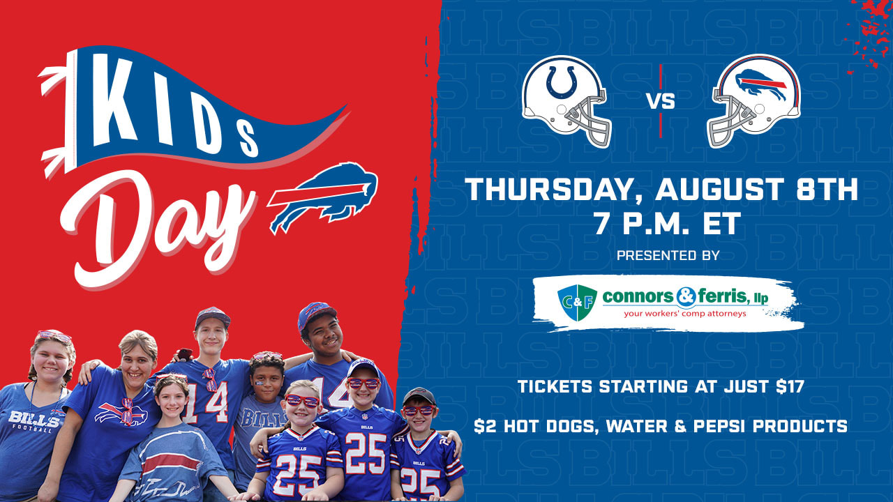 promo code d6871 b84a6 Buffalo Bills to host 18th Kids Day Game