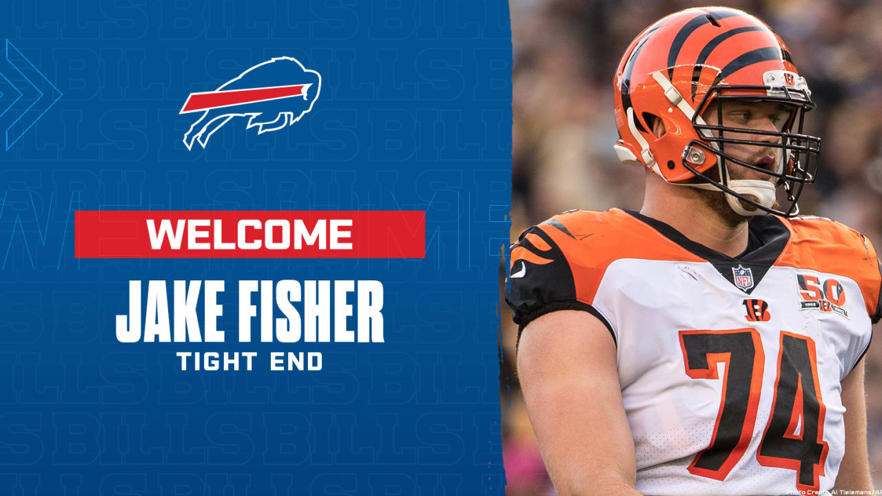 Free agent tight end Jake Fisher signs with Bills