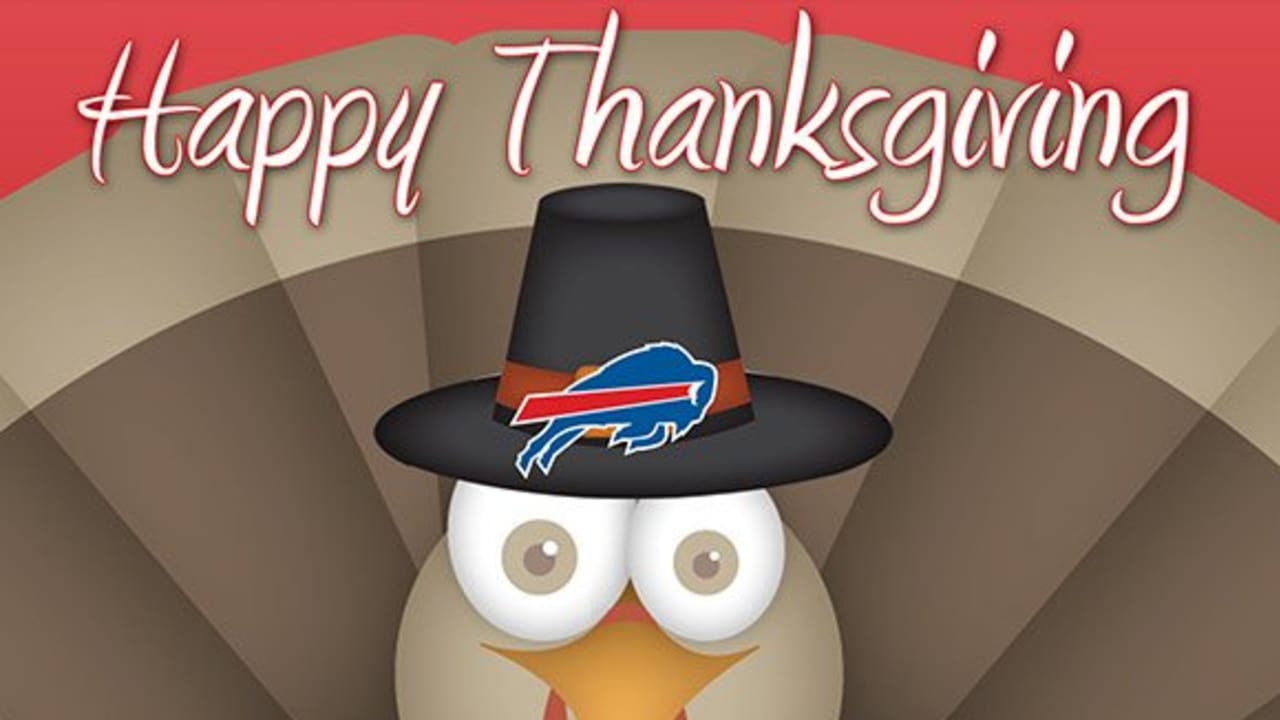 1d66312c82a Happy Thanksgiving from the Buffalo Bills