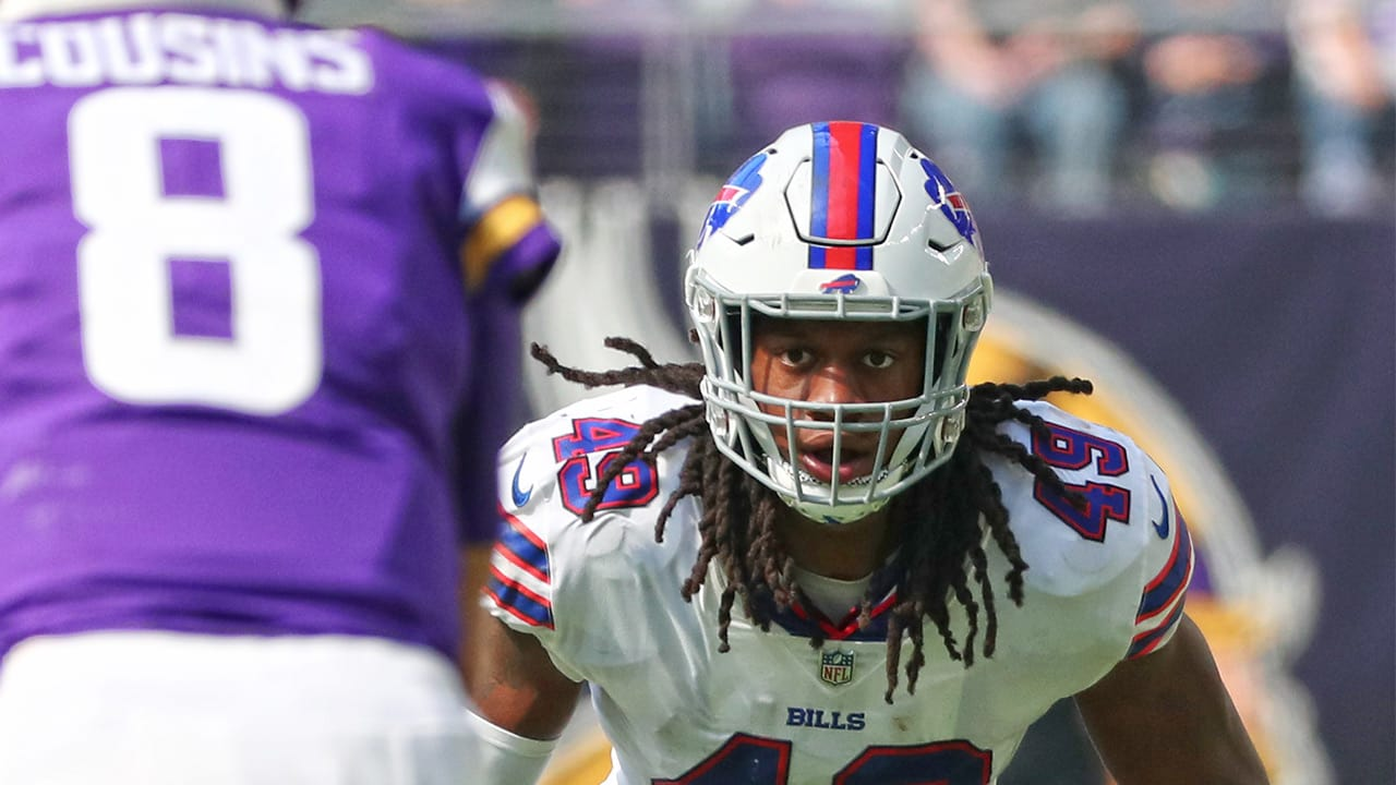 innovative design ea6a7 963c7 Why Bills veterans see all the signs for Tremaine Edmunds to ...