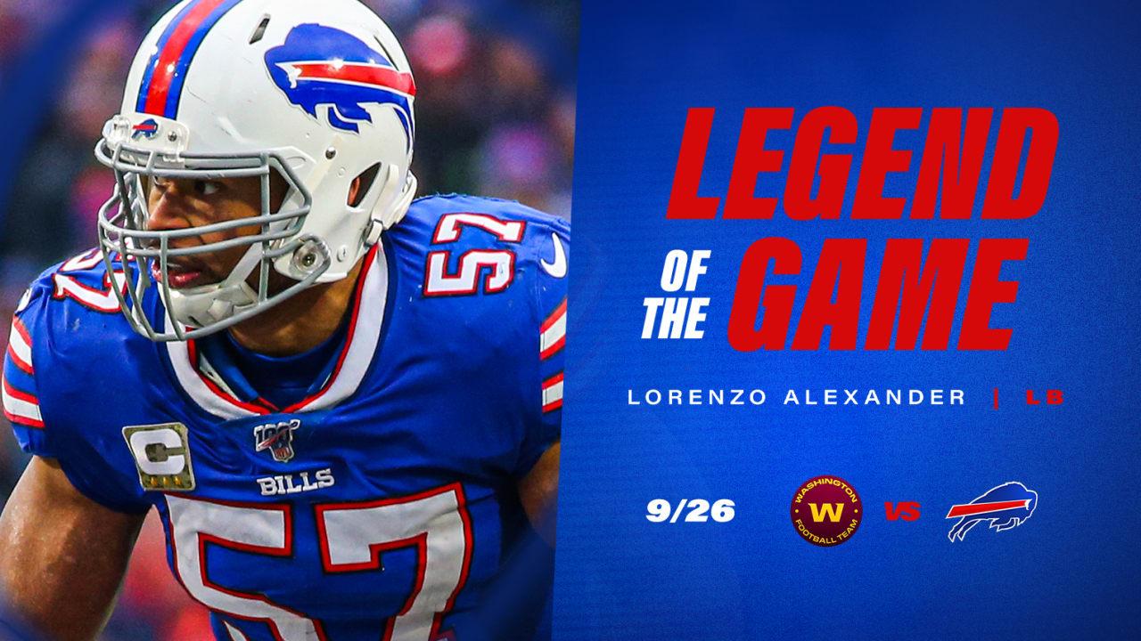 Lorenzo Alexander + 30 Bills legends set to return for Sunday's game   Bills TodayNews