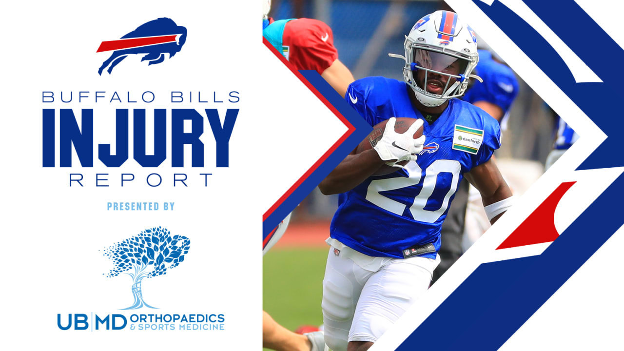 Injury Report | Zack Moss listed as questionable | Week 4